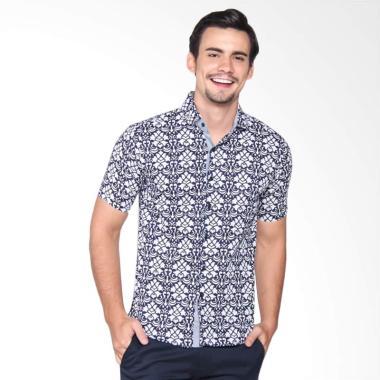 Gaya Jaya Modern Slim fit Kemeja Batik Pria [7106]