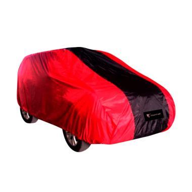 Mantroll Cover Mobil Daihatsu - Merah Strip Hitam