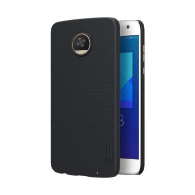 Nillkin Frosted Hardcase Casing for Motorola Moto Z2 Play - Hitam