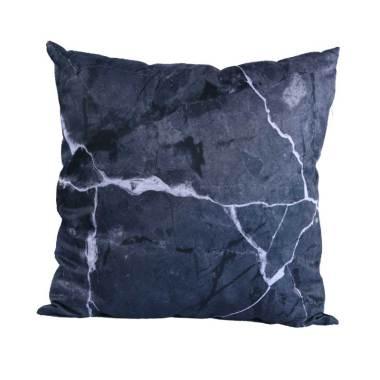 Olafur Gene Cushion Bantal Sofa + Isi - Marble Black [40 x 40 cm]