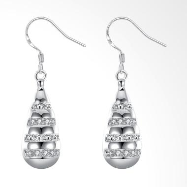 SOXY LKNSPCE768 New Exquisite Fashion Drop Shaped Diamond Earrings