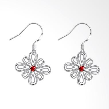 SOXY LKNSPCE742 The New Exquisite F ... 's Flower-Shaped Earrings