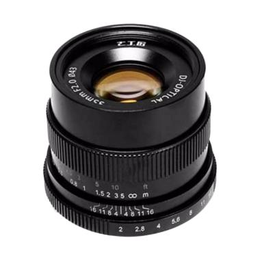 7Artisans 35mm F2.0 for Canon EOS-M - Black