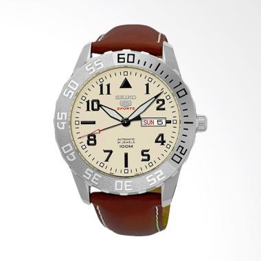 Seiko 5 Automatic Jam Tangan Pria - Brown [SRP757K1]