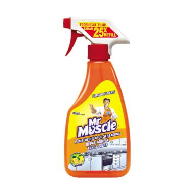 Mr. Muscle 259500000 Kitchen Lemon Pump Pembersih Dapur [500 mL]