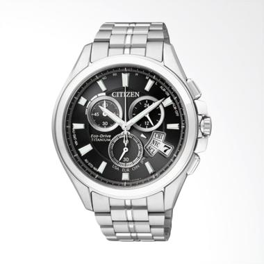 Citizen Eco Drive Radio Duratect Ti ... Black Silver [BY0051-55E]