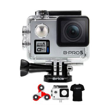 Brica B-PRO 5 Alpha Plus Edition Ve ... et Action Camera - Silver