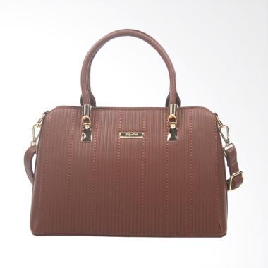 Elizabeth Bag Zaida Handbag - Coklat Tua