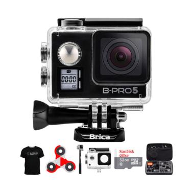Brica B-PRO 5 AE Mark IIs AE2s Comb ... ndo Action Camera - Hitam