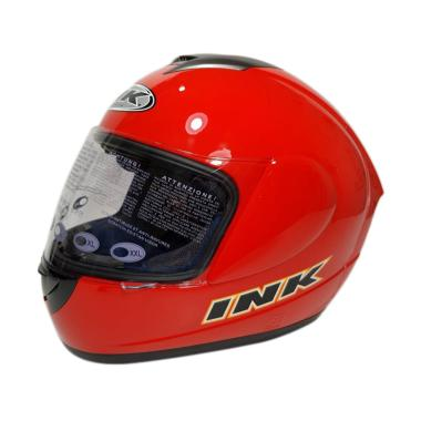 harga INK CL Max Solid Helm Full Face - Fire Red Blibli.com