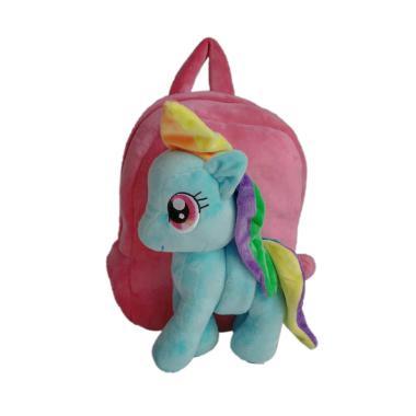 My Little Pony 0930010539 Rainbow Dash Boneka Bludru Backpack Tas Anak