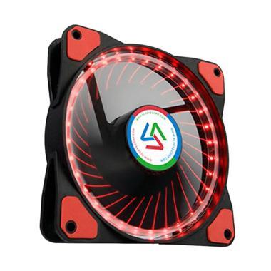 Alseye Wind Light 1.0 Cooler Case Fan with 32 LED - Merah