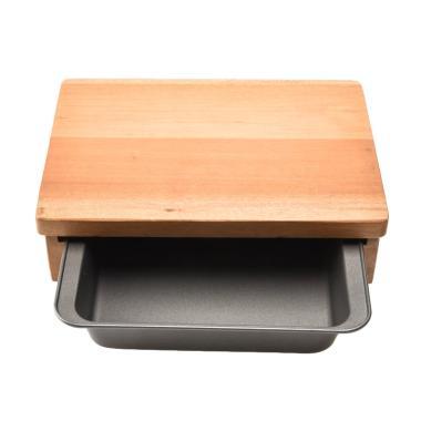Cooks Habit Mini Cutting Board Mini with Toaster Broiler Set