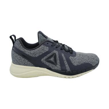 Reebok Print Run 2.0 Sepatu Lari Wanita - Grey Black. 0509c8195d