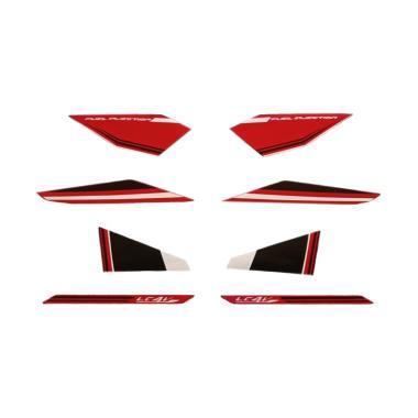 harga Idola Striping Aksesoris Body Motor for Vixion 2015 - Hitam Merah Blibli.com