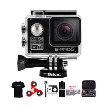 Brica B-PRO 5 Alpha Edition AE1 4K  ... ndo Action Camera - Hitam
