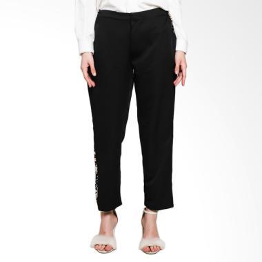 Rauza Rauza Indigo Pants Celana Muslim Wanita - Hitam