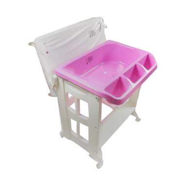 Karibu Baby Changing Bath Tub with Stand - Pink
