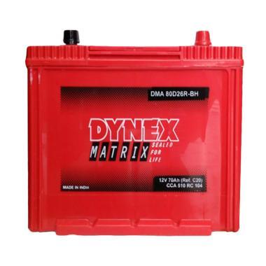 Dynex 80D26R Aki Kering Mobil [12 V/80 AH]
