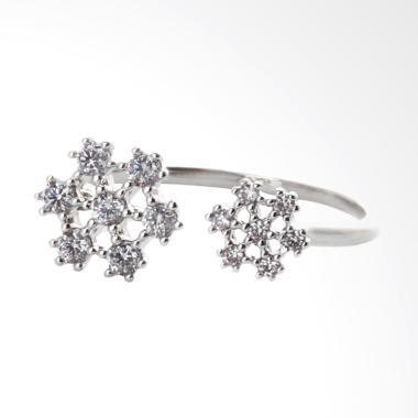 Cocoa Jewelry Snowy Wish Cincin - Silver