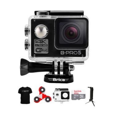 BRICA B-PRO 5 Alpha Edition AE1 4K  ... inIndo Action Cam - Hitam