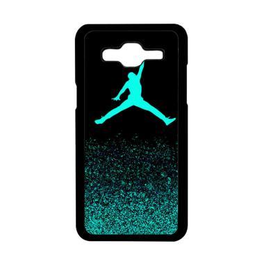 Acc Hp Air Jordan Jump Mint Glitter Z0010 Custom Hardcase Casing For Samsung Galaxy J2 Prime
