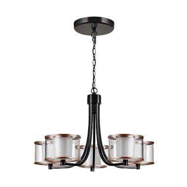 PHILIPS 40936 Outline Chandelier LED Lampu Gantung - Bronze
