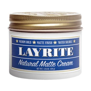 HEMAT..!!! Layrite Natural Matte Cream Pomade