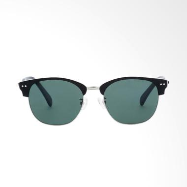 Life8 05192 Retro Browline Polarize ...  Frame Sunglasses - Green