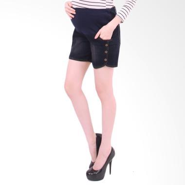 Eve Maternity Ljd018B Jeans Pendek Celana Ibu Hamil
