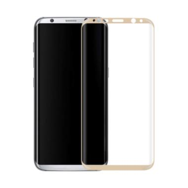 3T Tempered Glass Screen Protector  ...  Plus - Gold [Full Cover]