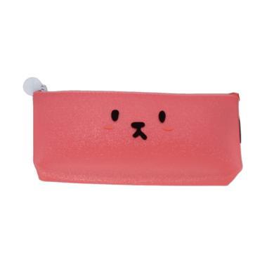 KUKUK STR-10115 Kartun Glitter Kotak Pensil - Merah