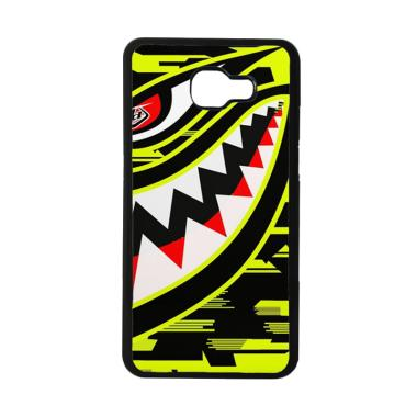 Acc Hp Troy Lee Designs P51 Hivis Yellow E1528 Casing for Samsung Galaxy A5 2016