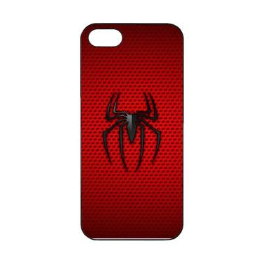 Acc Hp Logo Spiderman Carbon O0866 Custom Casing for iPhone 5 or 5S
