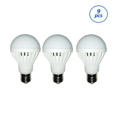 APA Lampu LED - Putih [3 watt/ 9 Pcs]