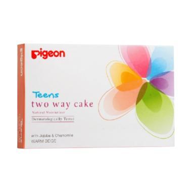 harga Pigeon Two Way Cake Powder - Warm Beige [14 g] Blibli.com