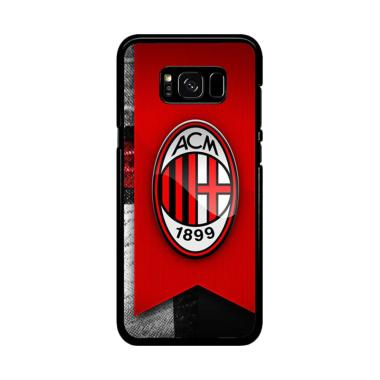 Acc Hp AC Milan Footbal Club W5236 Casing for Samsung Galaxy S8 Plus