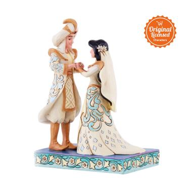 Disney Traditions Jasmine and Aladdin Wedding Figurine