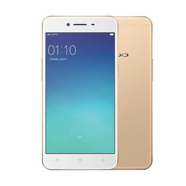 OPPO A37 Smartphone - Gold [16 GB/2 GB]
