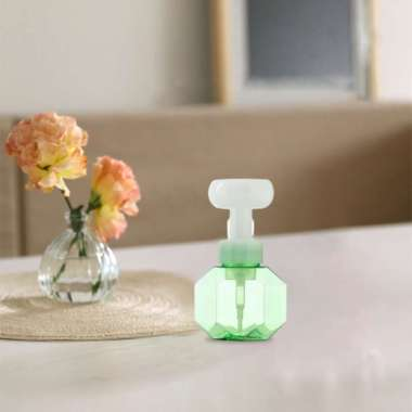 harga Empty Soap Dispenser Foaming Bottle Pump Liquid Container Shampoo Shower Gel Green Blibli.com
