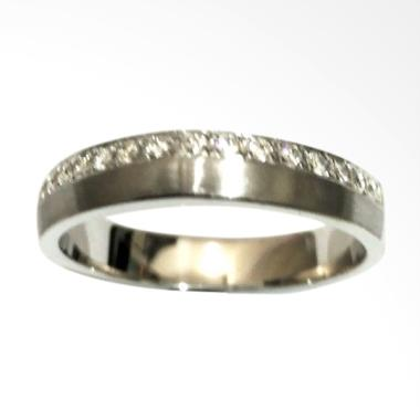 Pentacles FC02285 Wedding Ring White Gold With Diamond