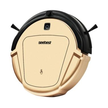 Seebest D750 Gyroscope Robotic Vacuum Cleaner - Gold