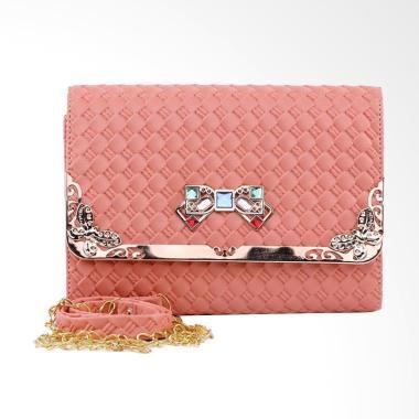 Garucci TRD 4096 Tas Pesta Wanita - Pink