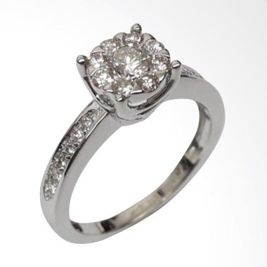Pentacles SC4394 White Gold Ring With Diamond
