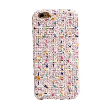 United Shop Pastel Knitted Casing for iPhone 6 Plus or 6S Plus - Pink