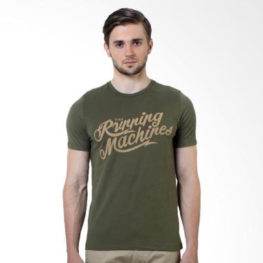 Manzone Slim Fit T-Shirt Pria - Kooky OL