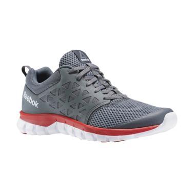 Reebok Sublite XT Running M Shoes Sepatu Olahraga Wanita - Dark Grey   BS8703  07e3c1aca2