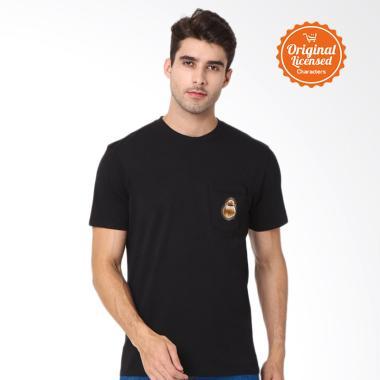 567f5ce03 Star Wars BB-8 Roll Pocket T-Shirt Pria - Black