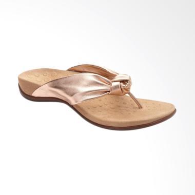 Vionic Pippa Sandal Flats Wanita - Rose Gold