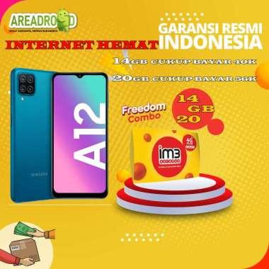 harga Samsung A12 [4/128 GB] Samsung Galaxy A12 4 GB 128 GB Bundle Indosat Garansi Resmi Bundle 14GB Blibli.com